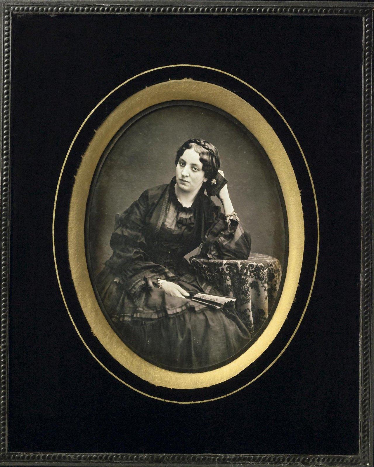 1854. Портрет Евгении Сенявиной