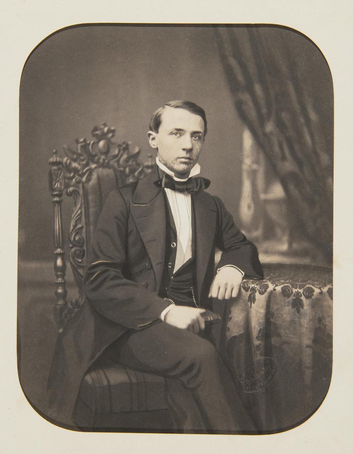 1850-е. Портрет Мамонтова Николая Николаевича
