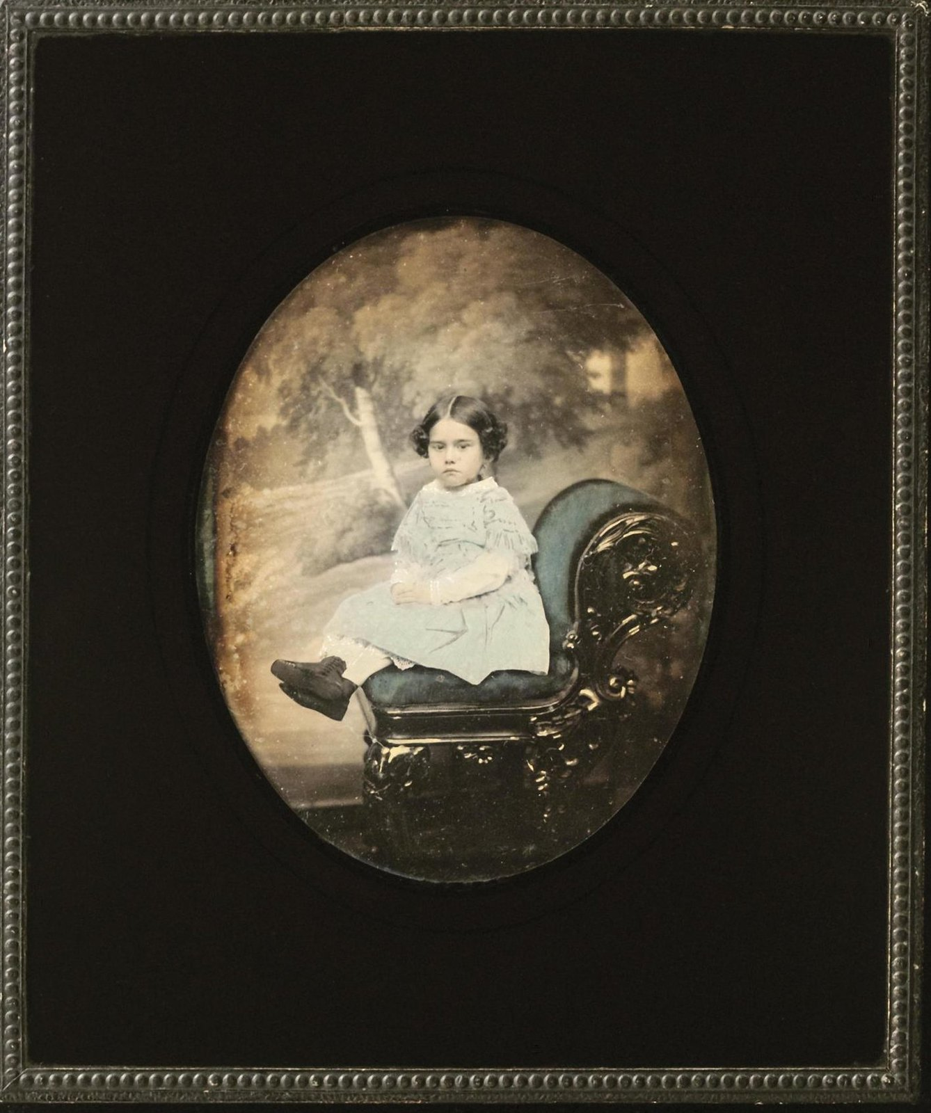 1850-е. Портрет девочки из семейств Иловайских-Махотиных
