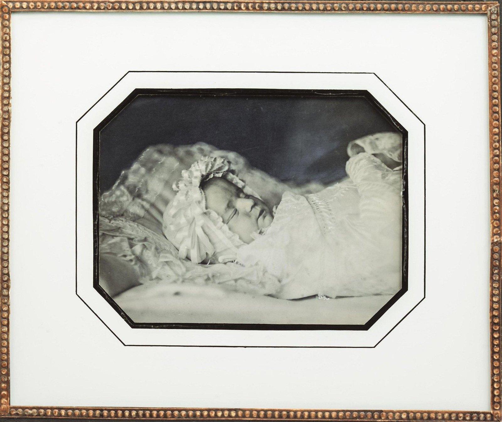 1840-е. Портрет ребенка на смертном одре