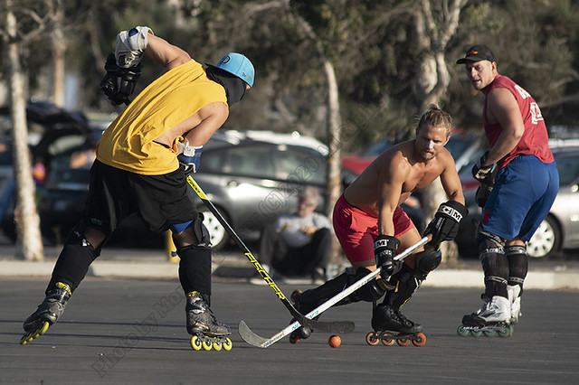 Santa Monica Beach Hockey