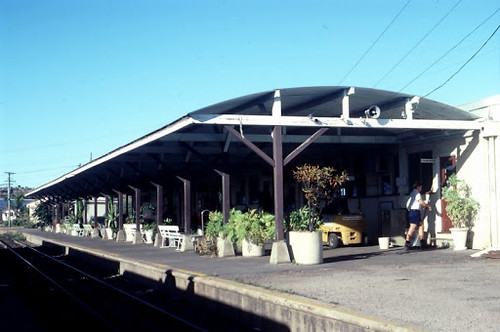 the former railway station in Bowen Queensland. John Coyle screen capture.