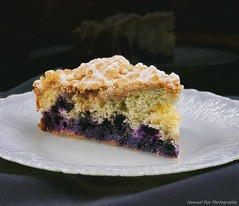 Delicious Homemade Blueberry Coffee Cake