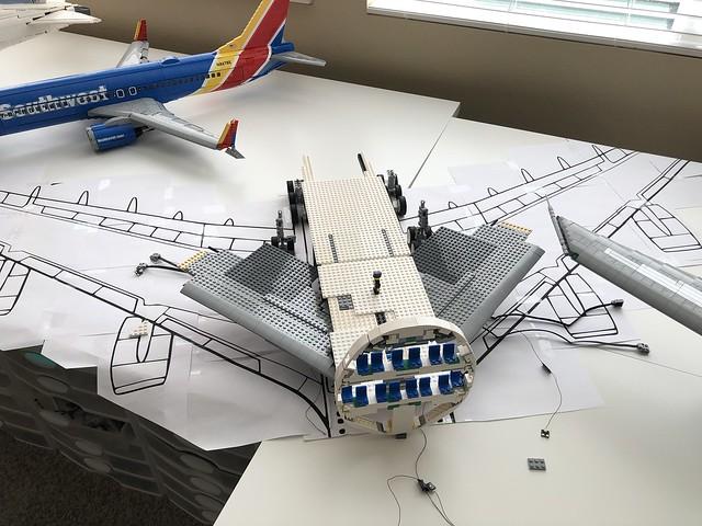 LEGO A380 WIP