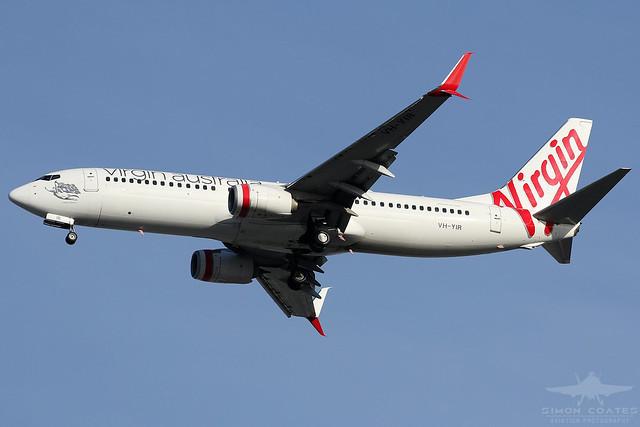 VH-YIR B738 VIRGIN AUSTRALIA