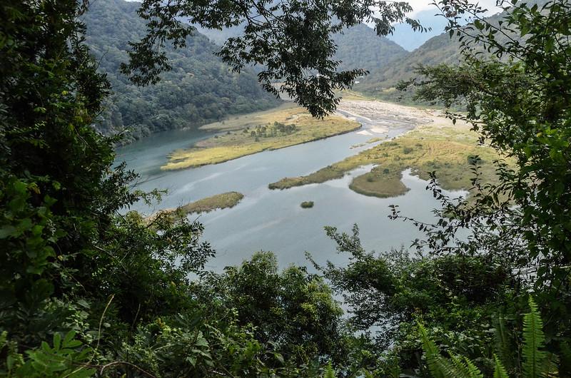 士林壩山俯瞰士林壩水庫
