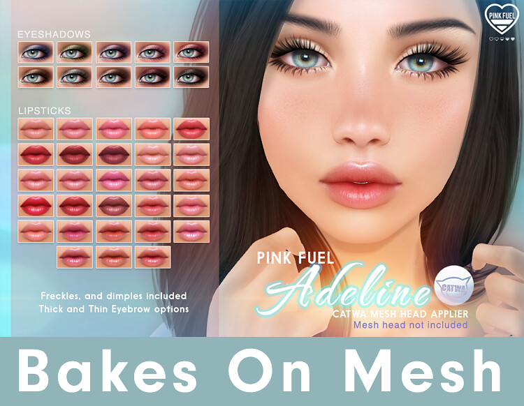 [PF] CATWA - Adeline now for Bakes on Mesh