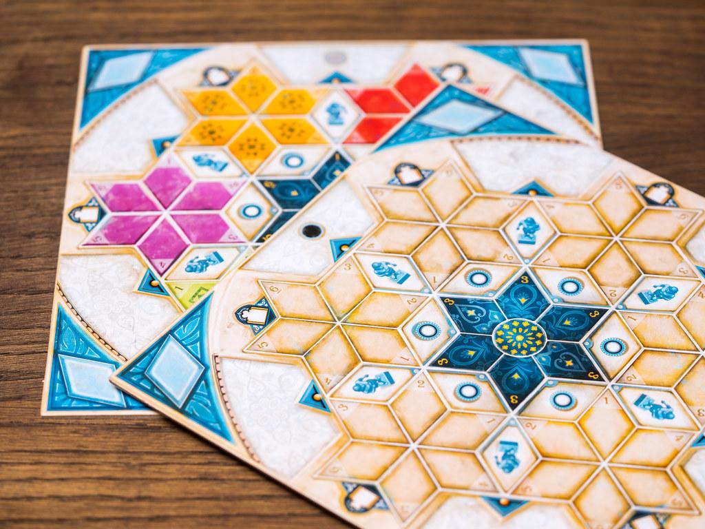 Azul Pabellón de Verano boardgame juego de mesa