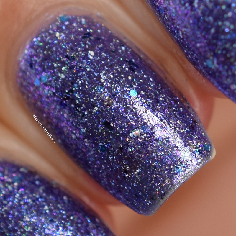 Girly Bits Cosmetics OOAK Purple Flakie Shimmer