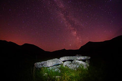 Wedge Tomb under Milkyway Loch a Duin Co.Kerry