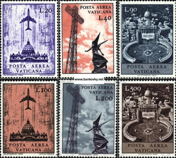 Známky Vatikán 1967 Letecká pošta