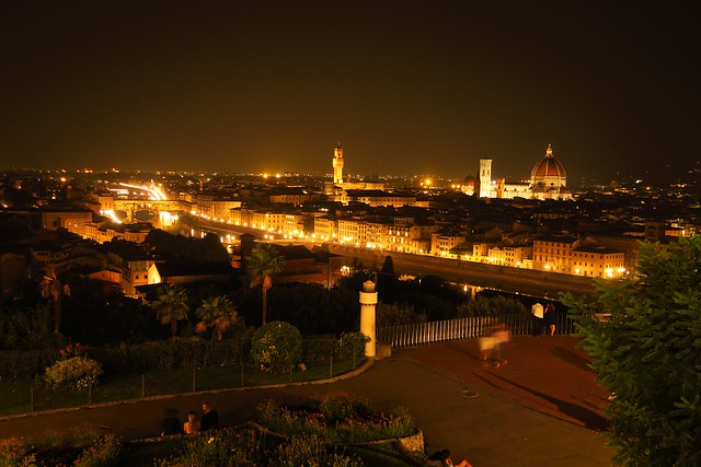 Notte d'estate a Firenze