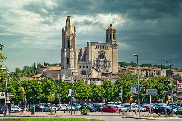Gerona - Iglesia de Sant Feliu - Catedral de Santa María
