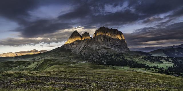 Dolomites...Langkofel sunrise...