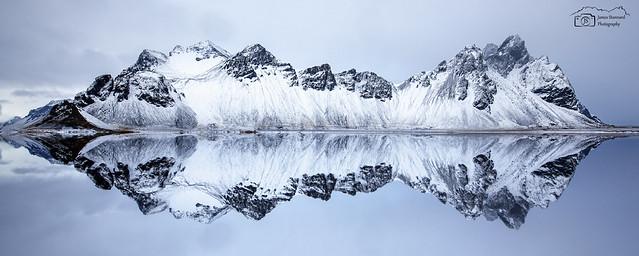 Vestruhorn reflections