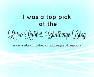 Retro Rubber Challenge - Top Pick