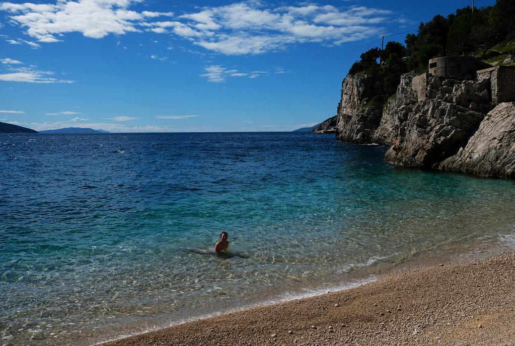 Croatian Beaches You've Never Heard Of: Brseč Beach, Istria, Croatia