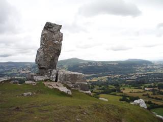The Lonely Shepherd and Sugar Loaf and The Skirrid SWC Walk 370 Crickhowell Circular via Mynydd Llangatwg and Craig y Cilau