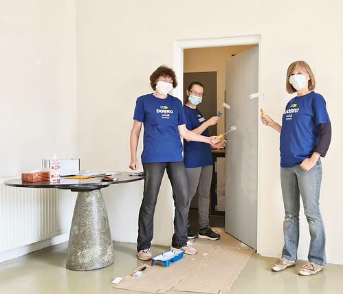 Týždeň dobrovoľníctva: Natri to vPovažskej galérii umenia vŽiline
