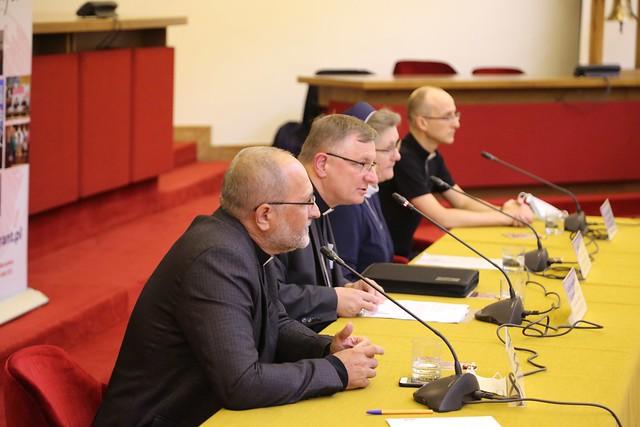 Konferencja prasowa przed Światowym Dniem Migranta i Uchodźcy, Warszawa, 21 IX 2020