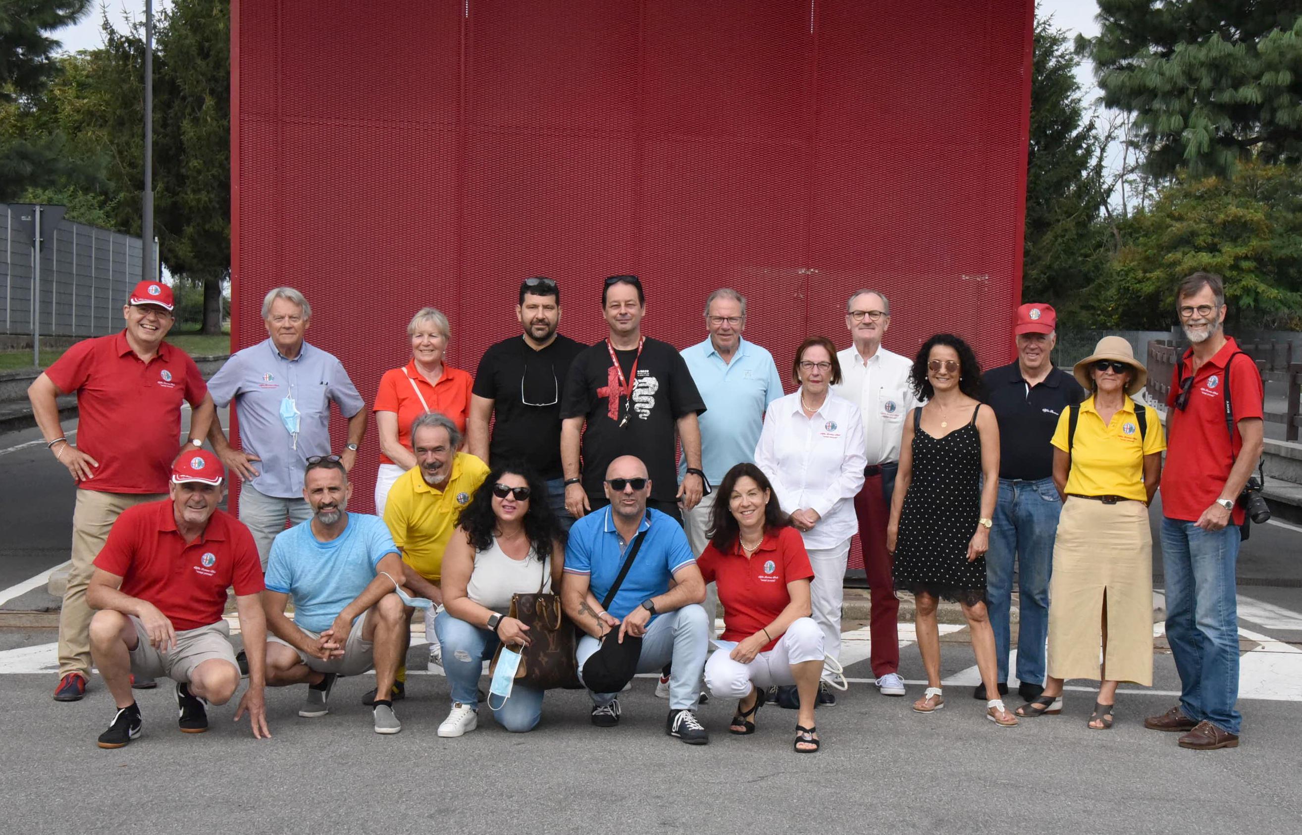2020-08-22 Alfa Club Weekend-Ausflug nach Lugano CH und Arese I
