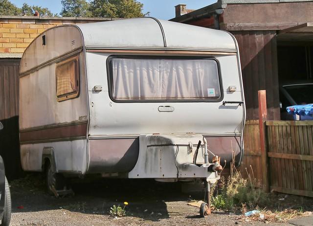 Abbey York caravan