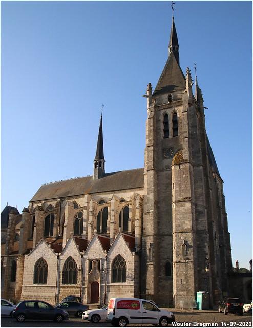 Saint-Germain-d'Auxerre (7th - 17th century)