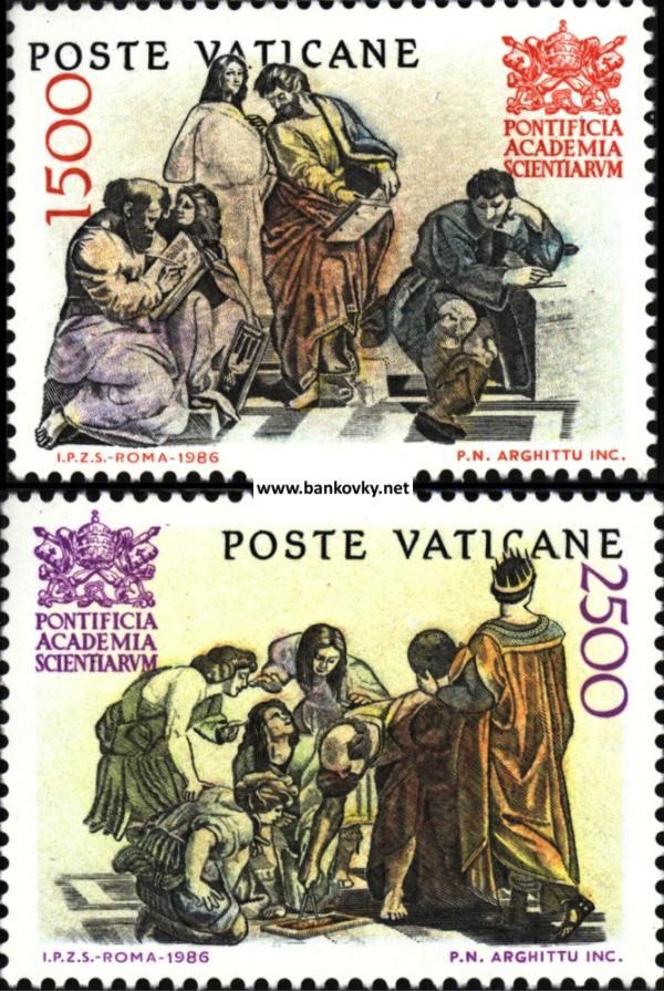Známky Vatikán 1986 Pápežská akadémia