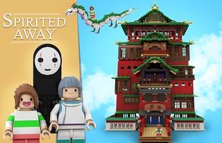 legotruman LEGO Ideas投稿《神隱少女》隱藏經典場景的「油屋」!