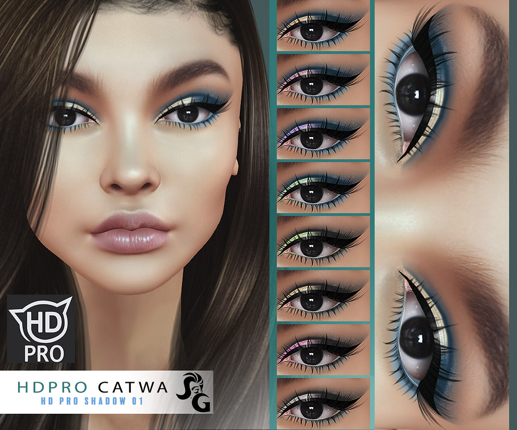 HD Shadow 04 for CATWA HD PRO HEAD