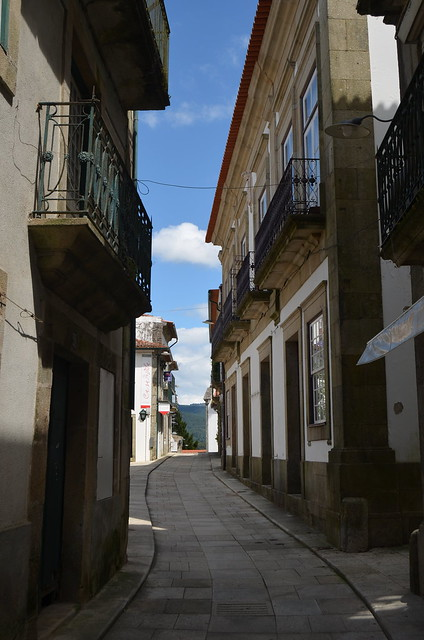 In the streets of old Valença IX
