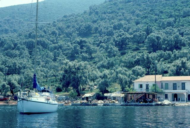 Amica vid Joniska öarna i Grekland 1982