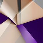Cream and Purple