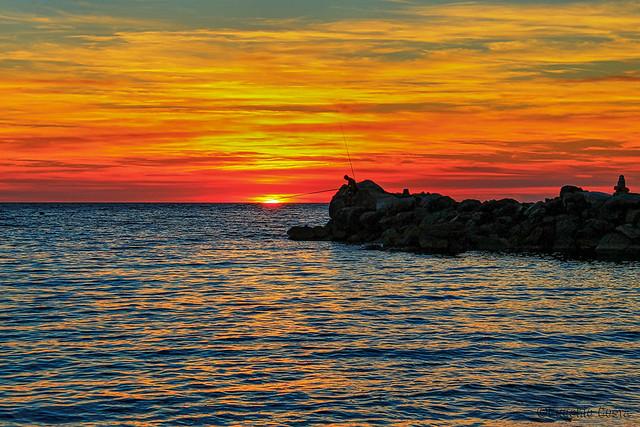 il pescatore di tramonti - The sunsets fisherman
