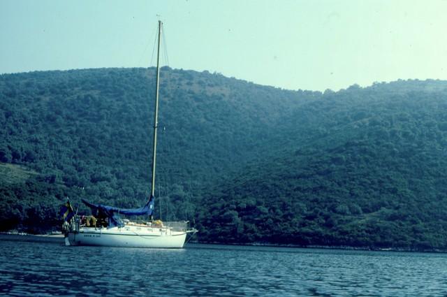 Amica vid Levkas, Grekland 1982