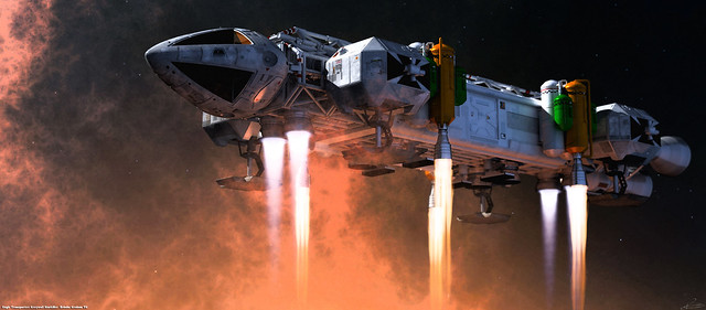 Space: 1999 - Booster Eagle