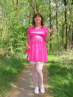 Girly forest walk