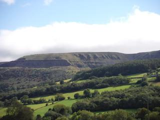 Llangattock Escarpment, from Cwm Onnau SWC Walk 370 Crickhowell Circular via Mynydd Llangatwg and Craig y Cilau