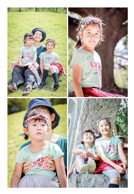 親子写真の撮影会 愛知県尾張旭市の公園