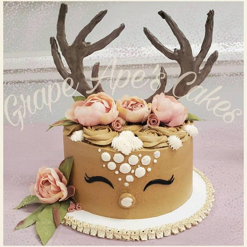 Cake by Grape Ape's Cakes