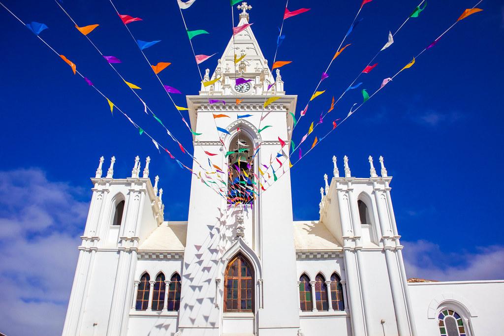 Iglesia de Nuestra Señora de la Luz en Los Silos en Tenerife