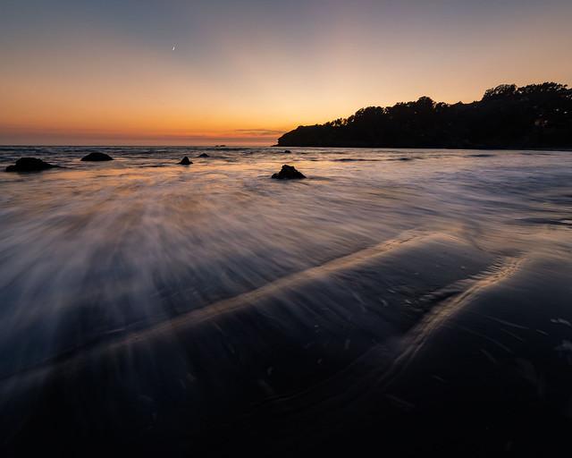California coastal Sunset