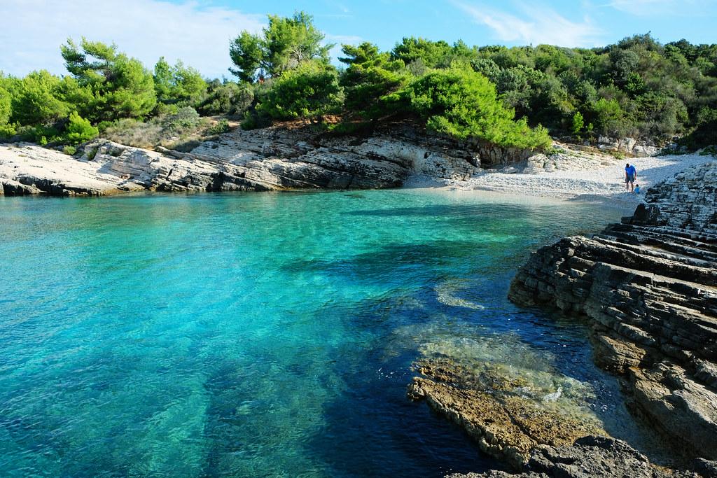 Plovanije Beach, Cape Kamenjak, Istria, Croatia