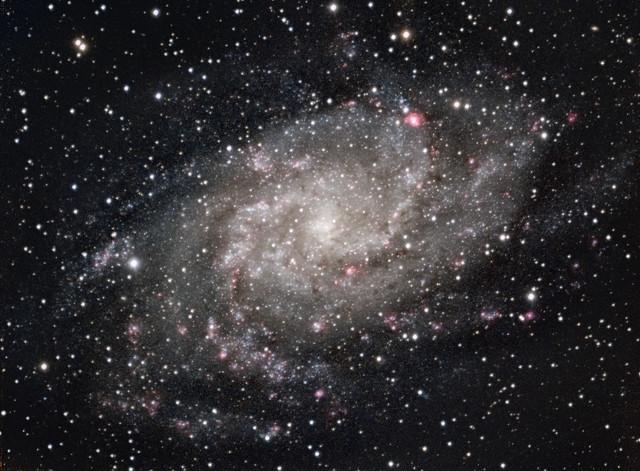 The Triangulum Galaxy (M33) in RGBHa