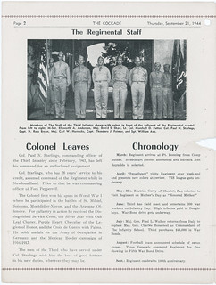 1944-09-21-The Cockade newsletter-Organization Day-Fort Benning-02 | by Old Guard History