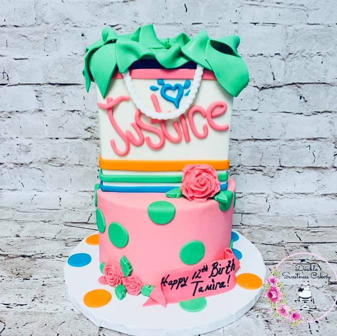 Cake by Double Sweetness Cakery