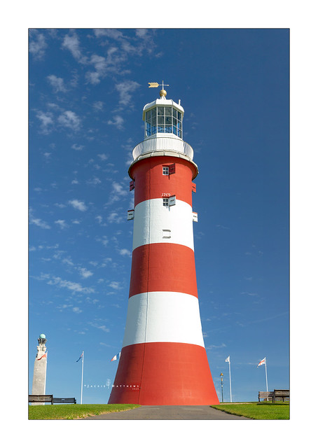 Smeaton's Tower in Plymouth Hoe ...