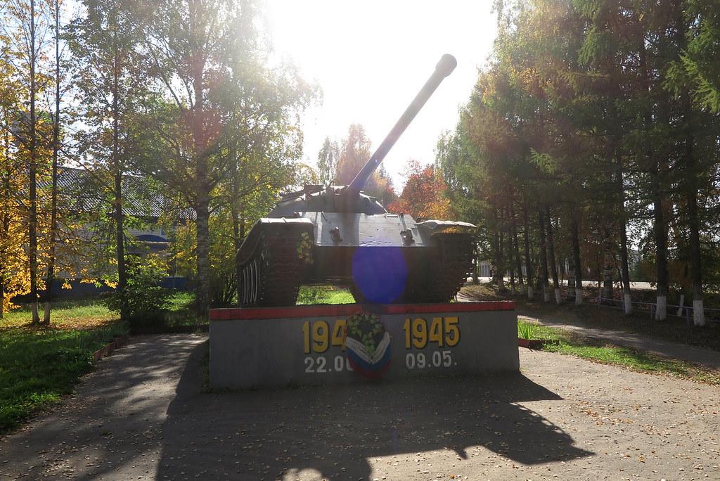Танк Т-54 в Даровском 6