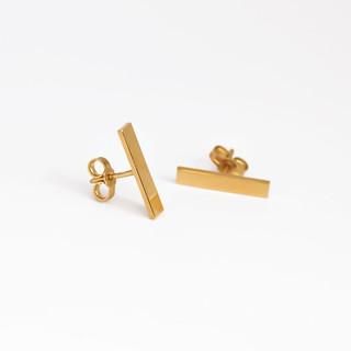 NATIF high-earrings-simple-gold