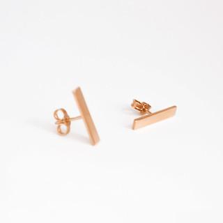 NATIF rosegold earrings simple